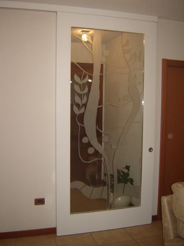 Porte interne falegnameria gerotto - Porte con specchio ...